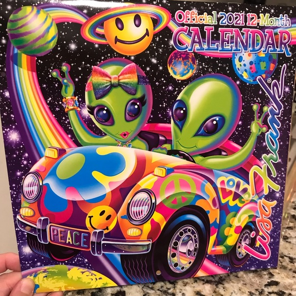 Office | Lisa Frank 2021 Calendar | Poshmark